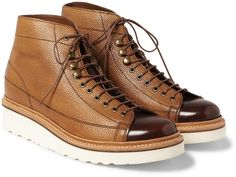 Grenson - Andy Panelled Leather Boots