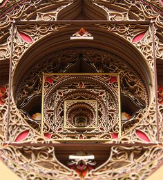 Impossibly complex compositions created from laser cut paper by Eric Standley