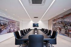 Sala riunioni Uffici ITALPACK spa Montechiarugolo (PR) #design #creative #office