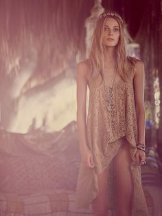 Free People Wild Is The Wind Tunic at Free People Clothing Boutique.