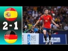 Spain vs Germany 2-1 Highlights & Goals - U21 Euro 2019 Spain Vs, Euro, Highlights, Germany, Goals, Baseball Cards, Sports, Youtube, Hs Sports
