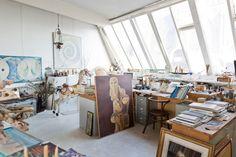Freunde von Freunden — (English) Gisèle d'Ailly van Waterschoot van der Gracht — Publisher & Artist, Apartment, Amsterdam Centrum —