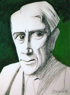 Ritratto di Georges Braque. Portrait of Georges Braque. 2008. Gabriele Donelli