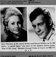 Susan Flannery and Edward Mallory, Days of Our Lives