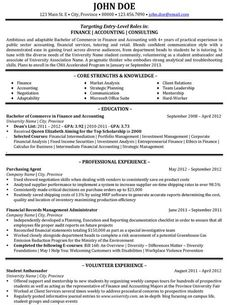 click here to download this management consultant resume template