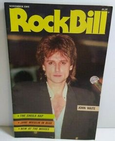 Jane Wiedlin, John Waite, Bobby Womack, Sheila E, Soft Cell, Great Father, Music Magazines, Used Vinyl, Boombox