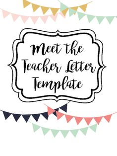free meet the teacher template - meet the teacher template floral pattern miss kiz