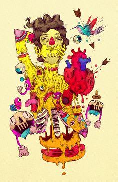 Raul Urias · Colorful future