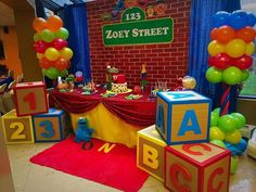 Birthday party• Elmo