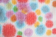 Paper towel art for toddlers and preschoolers
