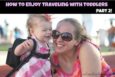 Traveling with a Toddler on a plane--huge list of ideas for what to pack in your carry-on to keep little ones happy!