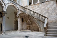 Rector's Palace, Dubrovnik. One of the filming locations for Game of Thrones