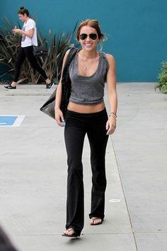 Miley Cyrus Photo - Miley Cyrus Leaves Pilates