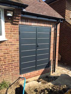 Charmant Garador Carlton Side Hinge Door   Anthracite Grey | Garage Doors |  Pinterest | Doors, Garage Doors And Front Doors