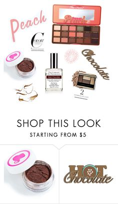 """Untitled #708"" by xxxxxxxxxx0 ❤ liked on Polyvore featuring beauty, Peaches & Cream and Too Faced Cosmetics"