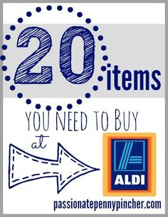 20 Items You Need To Buy At Aldi (And What You Should Never Buy At Aldi Too . . . )