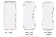 Burb Cloth Pattern, Bib Pattern, Baby Clothes Patterns, Sewing Patterns Free, Clothing Patterns, Dress Patterns, Coat Patterns, Burp Cloth Tutorial, Smocking Tutorial
