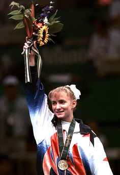 Shannon Miller Olympic Gymnast 1996 from Edmond, Oklahoma