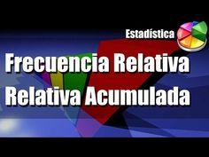 Frecuencia Relativa y Frecuencia Relativa Acumulada - YouTube