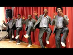 I discovered them when I was at university and I remember a feeling of pure happiness rising in me.  They pop into my mind every now and then and I watch the videos below, which give me a spring in my step for the rest of the day.  I find them utterly inspiring and they bring back memories of when we were in Kenya and the Kenyans we were with would dance and sing at every available opportunity.