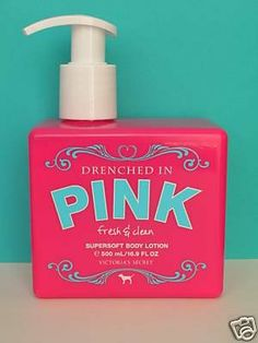 Victoria's Secret Drenched In Pink FRESH & CLEAN Supersoft Body Lotion 16.9 FL OZ Victoria's Secret http://www.amazon.com/dp/B001QDNBN8/ref=cm_sw_r_pi_dp_7shRtb0QKRHFQV1N