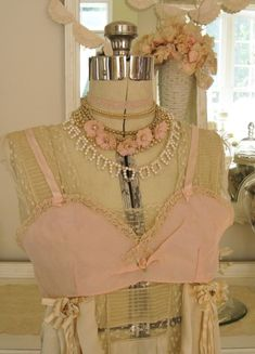 (nothing like a vintage bra...)
