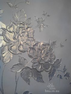 Natalia decorator, painting walls in Moscow, Reutov, Balashikha. Plaster Crafts, Plaster Art, Wall Sculptures, Sculpture Art, Stencil Painting, Painting Walls, Paper Flower Backdrop, Diy Arts And Crafts, Texture Art