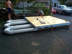 How to Build a Floating Dock Plan Kits | Floating dock