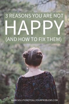 Feeling unhappy, but not sure why? Check out this article for some thoughts about happiness and tips for how to live a happy life.