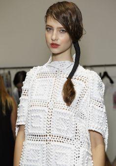 Bora Aksu SS15 Catwalk Show in September 2014 at London Fashion Week