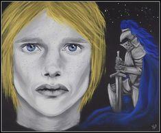 Brienne of Tarth (art by Anastasia Robozeeva)