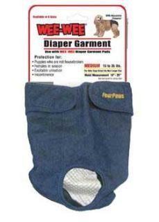 Four Paws Wee Wee Diaper Garment XXSmall