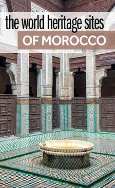 There are nine World Heritage Sites in Morocco, including cities, ancient fortifications, and even a Roman ruins. I have been to each of them and these are my tips on whether it's worth visiting the World Heritage Sites of Morocco and which are the best to see on your Morocco travels.