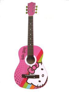 Hello Kitty Acoustic Guitar. I've got one...