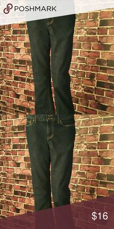 BOGO 50% Off Gap Blue Jeans Gap Bootcut Jeans. Color: Dark Blue. 70% cotton, 30% polyester. Waist: 32 inches, Flat Measurements= Thigh: 11 inches, Hips: 19 inches, Rise: 10 inches, Inseam: 34 inches, Outseam: 43.5 inches, Leg Opening: 9.5 inches. Seller's Discount: 20% off 2 or more items.** [C20] GAP Jeans Boot Cut