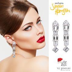Unique jewelry from Simon Harrison in TZ Jewelry store!!! #SimonHarrison #Swarovski #crystals #exclusive #jewelry #TZjewelry #unique #earrings