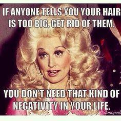 Preach it Dolly