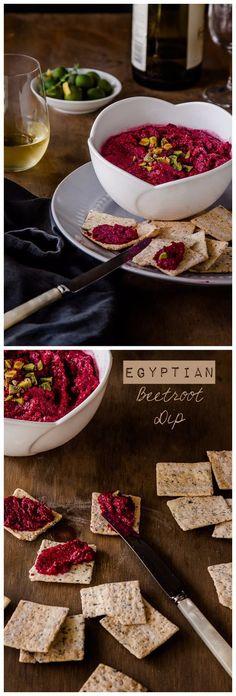 Egyptian Beetroot Dip