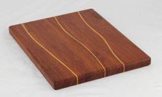 Brazilian Cherry & Yellowheart Butcher Block by BlueMtnWoodworks, $90.00