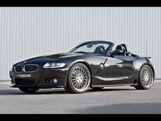 BMW Z4  Still like the black.