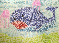 word mosaic grade 6 - can be modified for any grade level and enrichment for different themes.