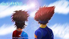1999.8.1 by NeoRuki.deviantart.com on @DeviantArt Just because I'm always Taichi&Taiki