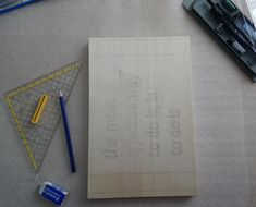 Wood Car, Office Supplies, Notebook, Arts And Crafts, Gifts, The Notebook, Notebooks, Journals