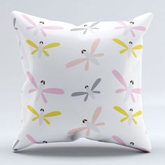 Organic Dragonflies Baby/Toddler Pillowcase/Add a by tinytweets