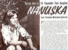 Nanushka Meks, Kerim Ağa Han'ın 16 yaşındaki sevgilisi 1960.