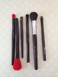 Lancome, Sedona Lace, BH Cosmetics brushes - $3 each