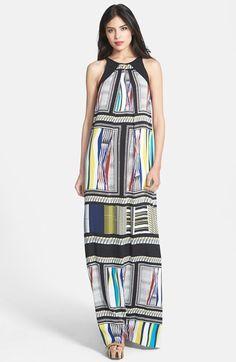 Diane von Furstenberg 'Jordan' Print Silk Maxi Dress available at #Nordstrom