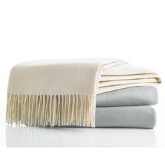 Vera Wang Cashmere Throw Blanket. #VeraWang #BeddingStyle #throwblanket