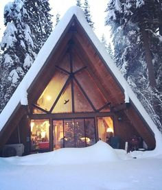 I spent a week in this winter hideaway up in Washington http://ift.tt/2lc6NtA