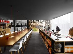 citizenM Hotel by Concrete Architectural Associates, Rotterdam hotel hotels and restaurants